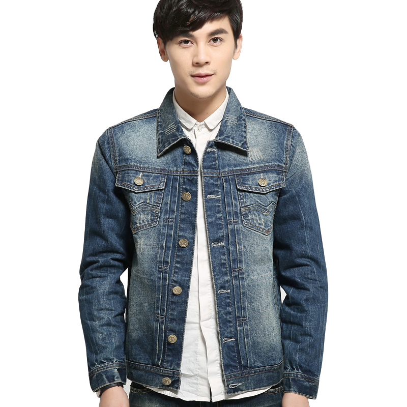 Buy 2015 New Arrival Denim Jacket Men Fashion Short Coat For Men ...