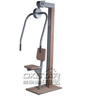 Elder people walking exercise outdoor fitness body equipment