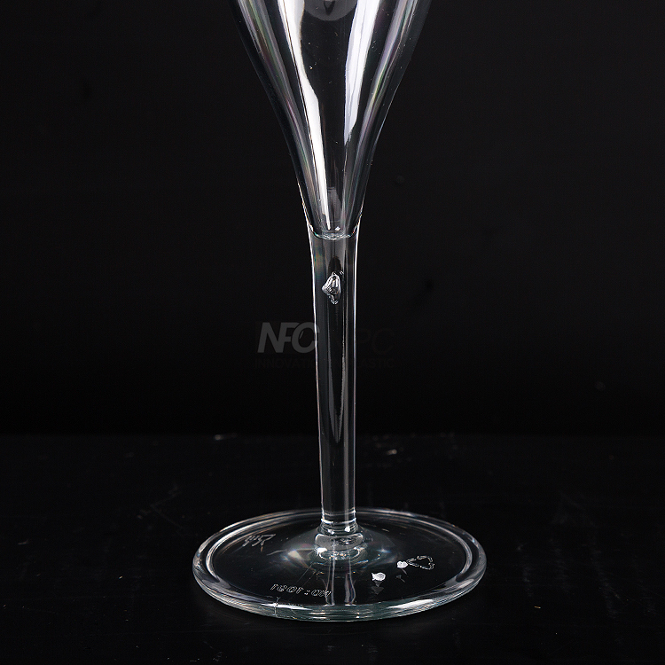Premium Plastic Champagne Flutes Glass For Party Wedding