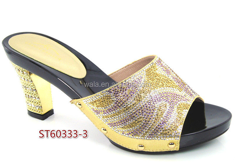 set New gold women italian high 2016 quality high arrival 3 shoes heel for ST60333 E6aUqpcwPW