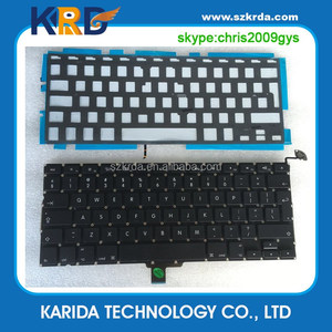 "New backlight keyboard for Macbook A1278 13"" laptop assembly US keyboard"
