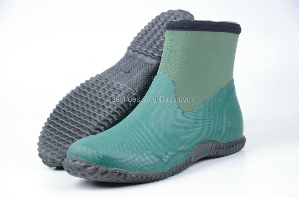 2015 Fashion Low Cut Mens Neoprene Rubber Boots For French People ...