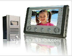 Home automation hot selling 7'' video door/ bell door phone/ intercom system