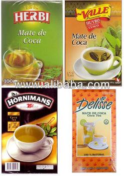 Herbi,Del Valle,Hornimans & Delisse Mate Tea - 100 Tea Bags - Buy Coca Tea  Product on Alibaba com