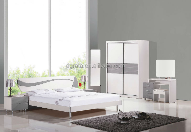 New Furniture 2014 2014 new model bedroom furniture was made from e1 mdf board and