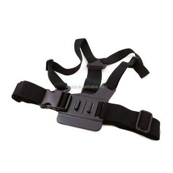 Hot GoPro A Chest/breast Strap Mount Go pro Cheststrap for GoPro 5 4 3/3+ Sjcam Xiaoyi camera