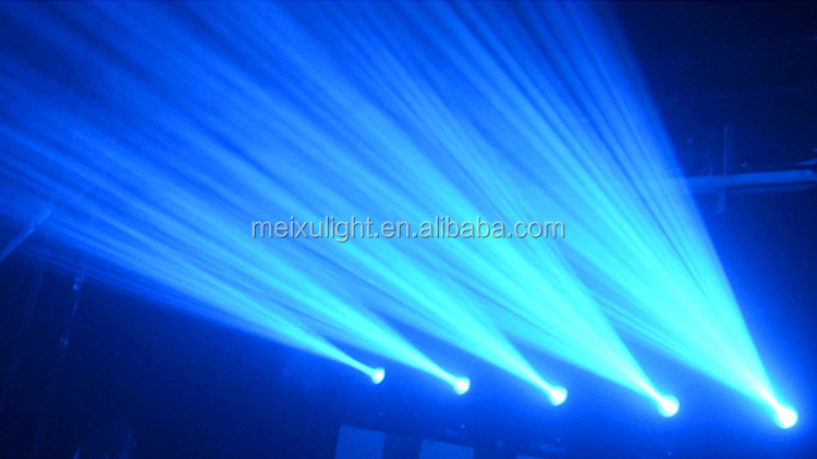 Dekorasi Pernikahan 2 Pcs Beam 230 W Shatter 7R Lampu Moving Head Packing dengan Kasus Penerbangan