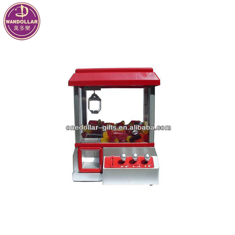 Mini Electric Candy Grabber Machine Arcade Game for kid toys