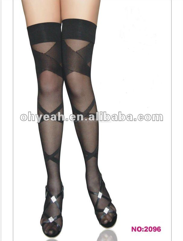 Professional supplier black women in stockings