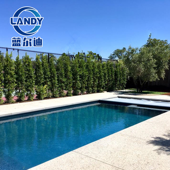 Soft texture Antifreeze cold-resistant swimming automatic pool cover fabric  tent, View swimming pool cover fabric, Landy or OEM Product Details from ...