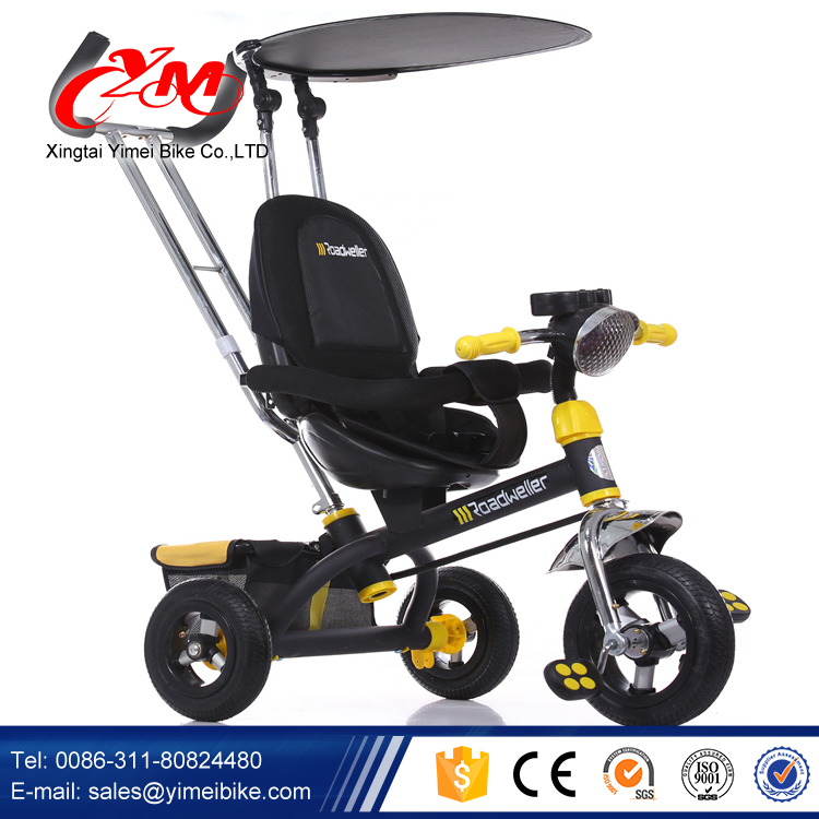 2015 New products on china Car toy Children Metal Frame Tricycle/Baby smart Trike/Kids Tricycle pneumatic tyre with foot brake