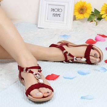 Saa3414 Latest Bohemia Style Women Sandal Shoes 2015 Summer New ...