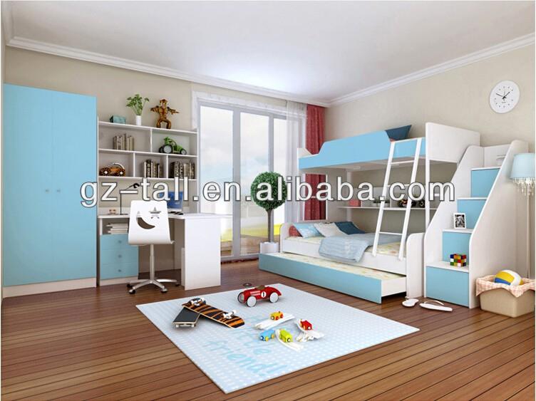 어린이 침실 가구 아이 이층 침대 아기 침대--상품 ID:60410224385 ...
