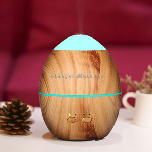 Wood Grained Ultrasonic Operated Aroma Diffuser Aroma Diffuser Essential Oil