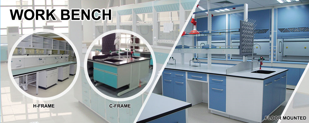 Cheap Laboratory Furniture Type Hydraulic Work Bench For Chemistry Laboratory