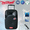 Rechargeable Battery portable trolley bluetooth pa speaker