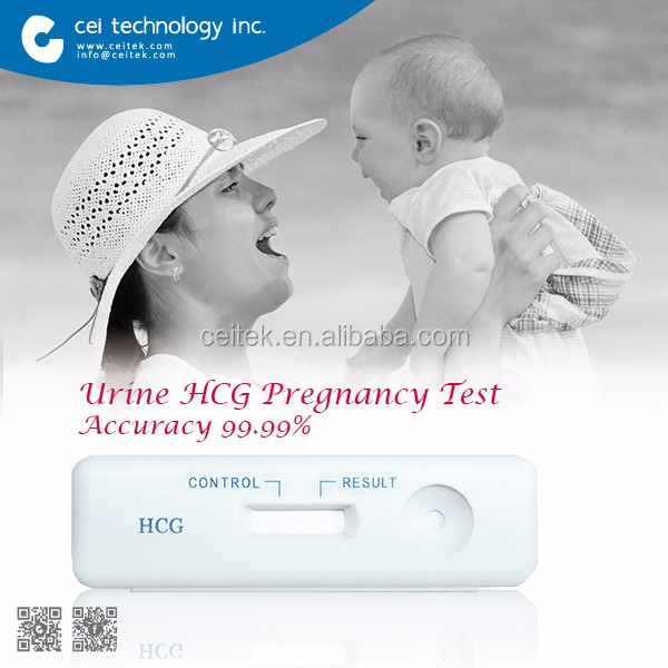 2017 Home Use High Accuracy Rapid Test Result Urine Pregnancy Test Kit