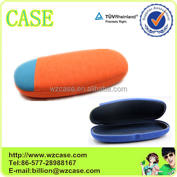 PU orange optical glasses case I69