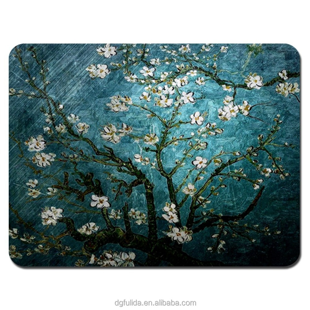 Personalized create a cheap mousepads in Donguan Fulida