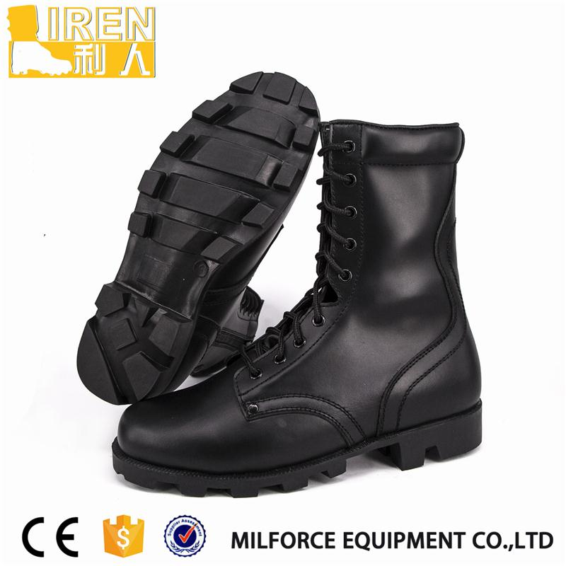 breathable natural color leather boots chelsea with low price