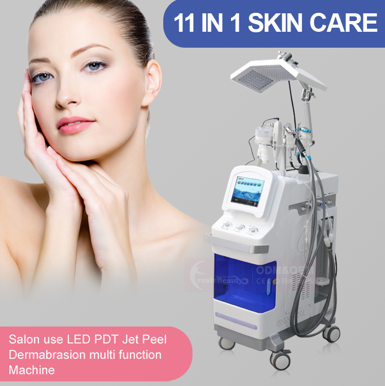 Multifunction Facial skin care hydra beauty Machine/Super aqua dermabrasion hydro water oxygen hydrogen Jet Peel