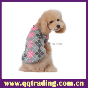 Low price round neck xxxl foreiger designer alpaca autumn winter dog sweater