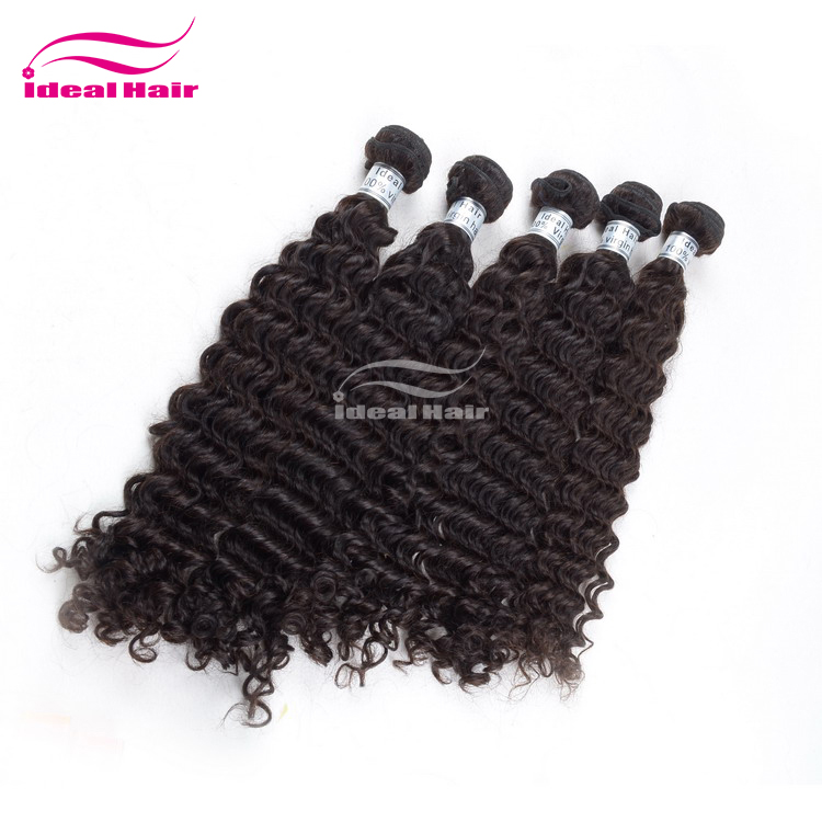 Raw 100 Brazilian Natural Hair Weave Curly 12 Inch To 22 Inch