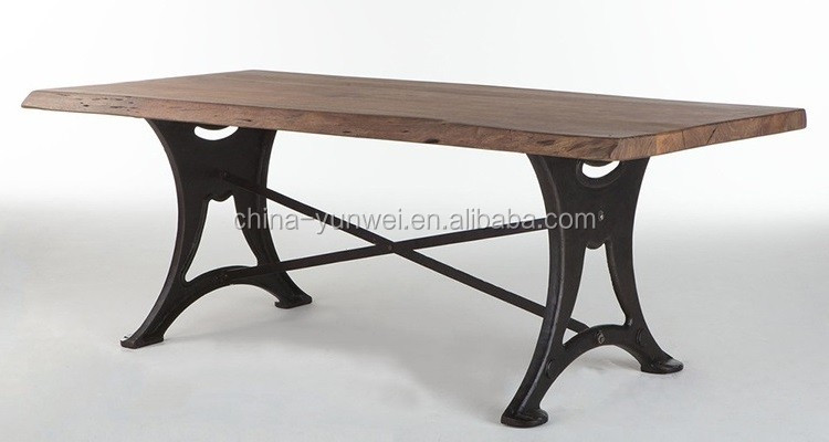 Chinese Promotional Top Quality Antique Glass Cast Iron Coffee Table Legs