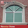 Exterior granite window frame