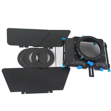 M4 DSLR swing away Matte Box Kits with top handle for All Camera Rigs with 15mm Rod Systems