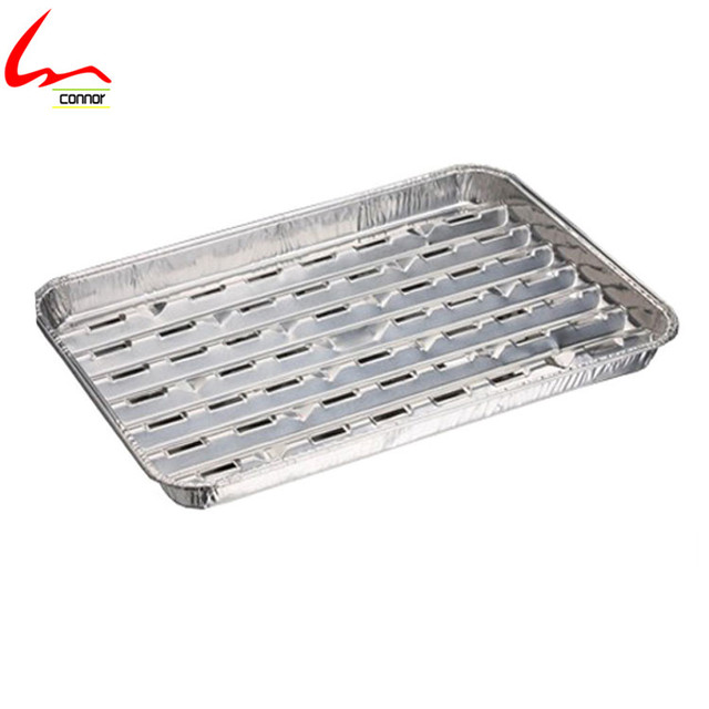 Disposable Aluminum Foil Grill (used For Meat Roasting And