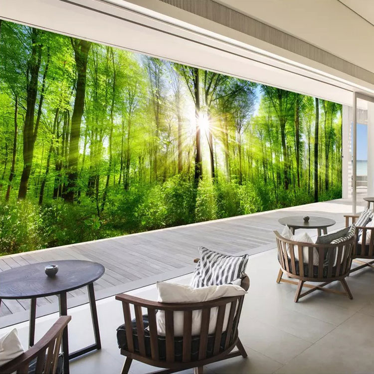 Natural Scenery 3d Mural Wallpaper For Home Decoration Buy Tv Wall Mural Wall Fashion Wallpaper 3d Wallpaper Product On Alibaba Com