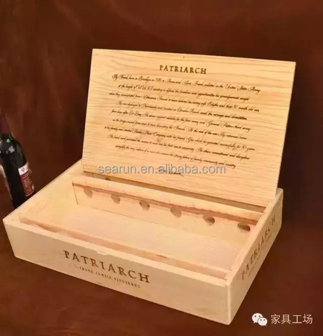 6 Bottle Wine Box