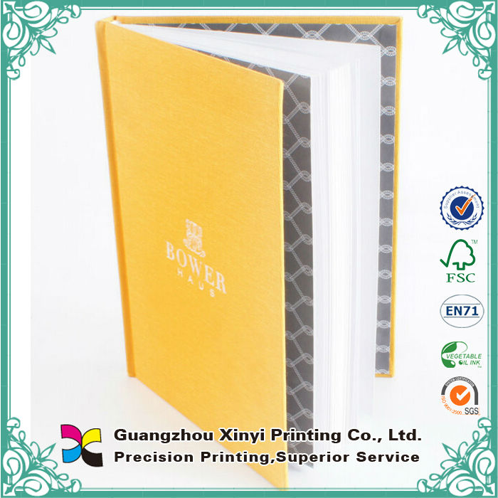 Cloth Covered Cheap Hardcover Book Printing