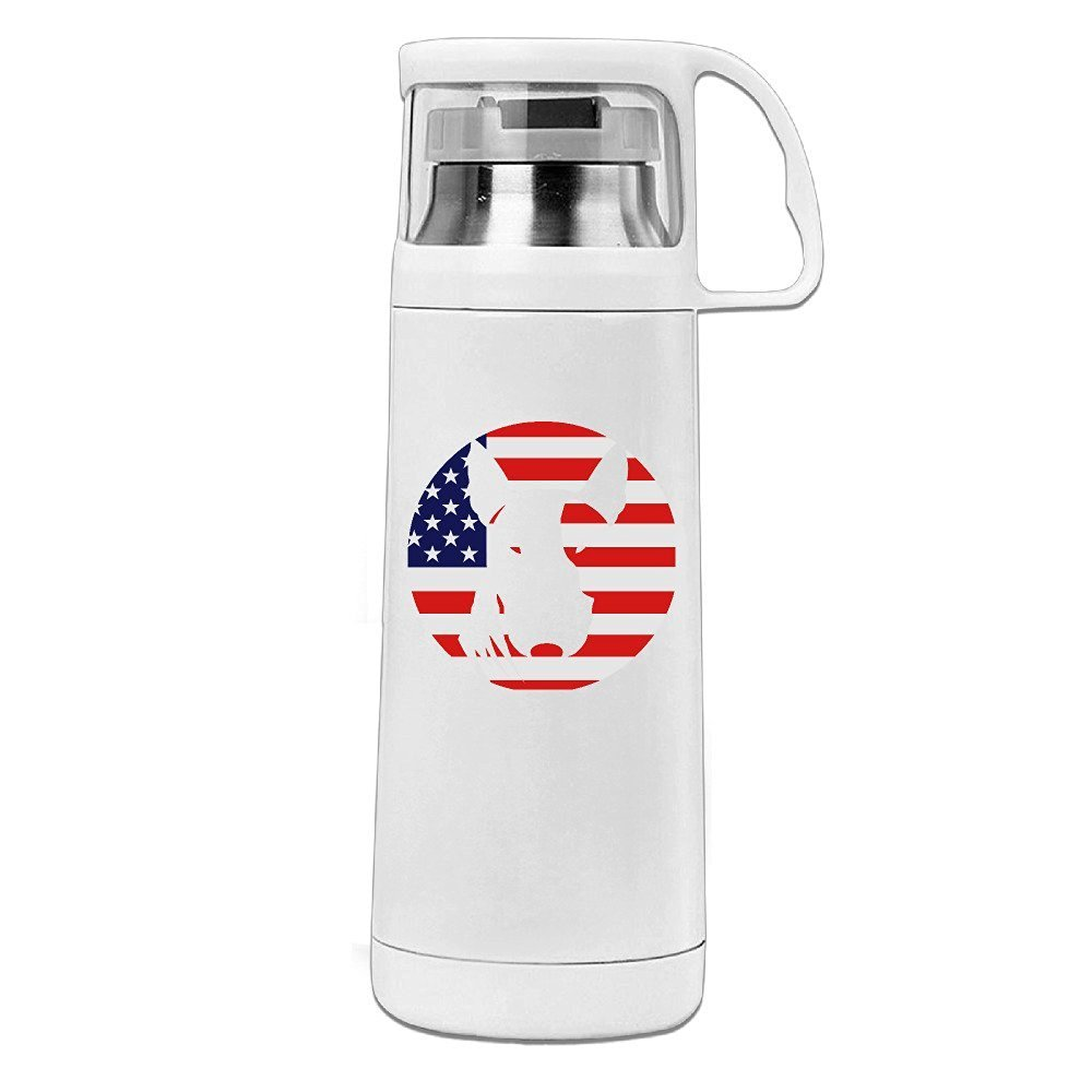 Handson Stainless Steel Vacuum Insulated Travel Mug For Better Life Insulated Vacuum Cup White 14oz/350ml