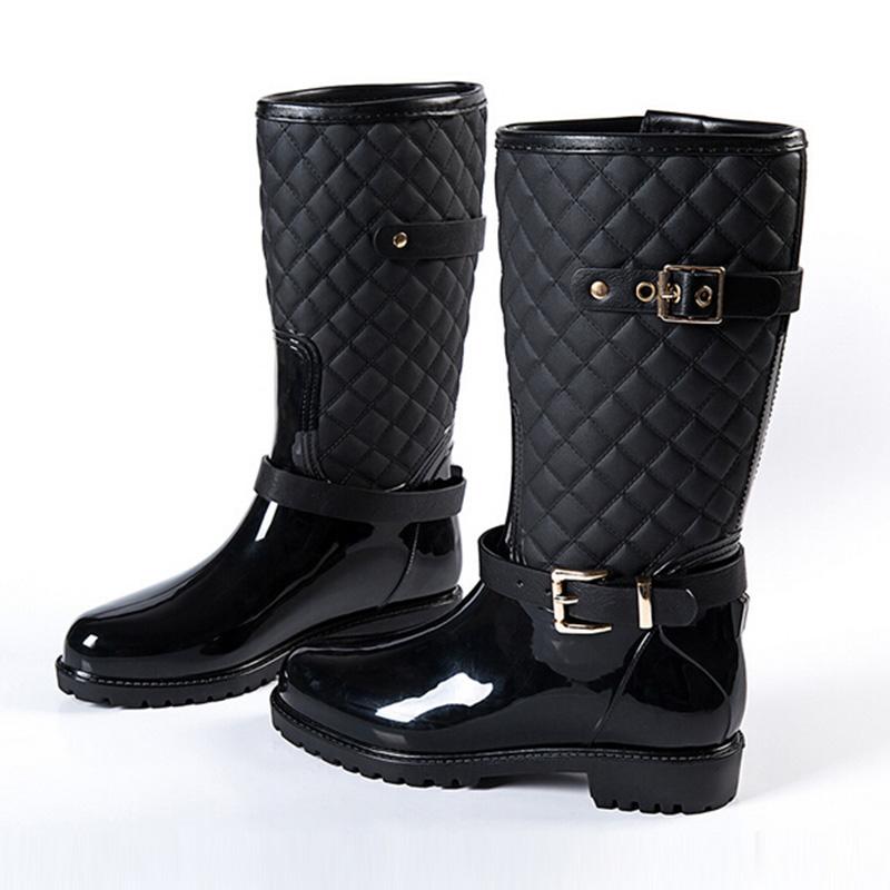 Best Waterproof Rain Boots Tsaa Heel