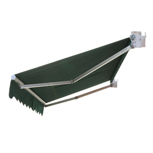 High quality factory producing durable retractable rain curtain awning