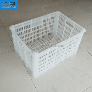 Large industrial heavy duty agriculture vegetable and fruits shipping stackable mesh plastic crate
