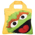 Load 20Kg Sesame Street Shopper reusable foldable grocery tote bags,Cookie Monster Polyester Single Shoulder Shopping Bags