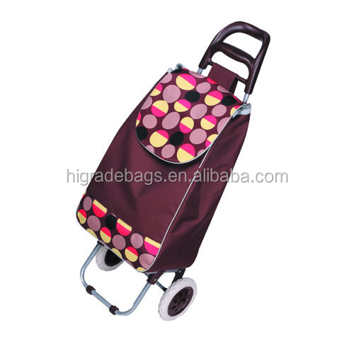 foldable shopping trolley shopping bag with chair