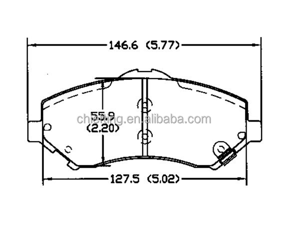 buy brakes D1273 68003701AA for Chrysler Dodge Jeep VW fronts brake parts online