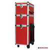 Red Salon Hairdressing tool case