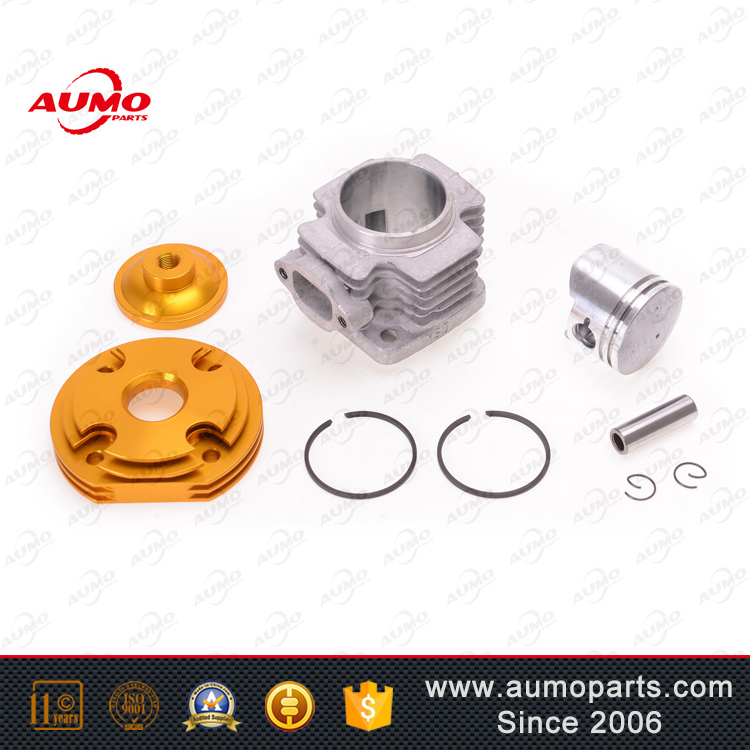 Cylinder set with cylinder block, piston, piston ring and gasket for MINI POCKET BIKE