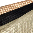 pu synthetic roll pattern diamond fabric braided material leather metallic