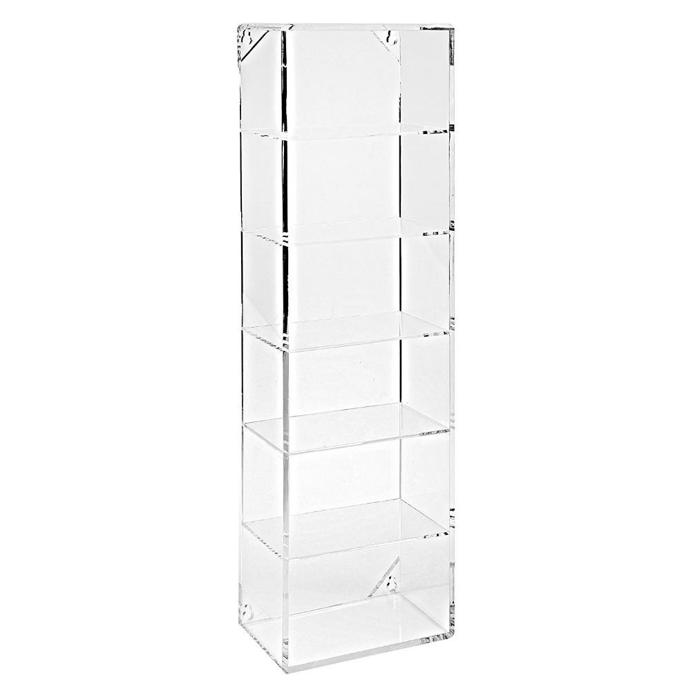 Modern Clear Acrylic Wall Mounted Storage Organizer Rack