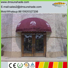 French style window dome commercial awning