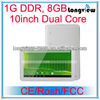 Cheap dual core 1GB 8GB tablet pc 10 inch