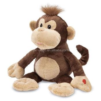 Plush Monkey Toy Custom Stuffed Baby Doll Toy Giant Stuffed