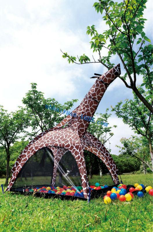 Giraffe Tent  animal printing giraffe design kids playing tent  foldable tent for kids & Giraffe TentAnimal Printing Giraffe Design Kids Playing Tent ...
