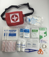 Belt travel, outdoor first aid kit